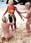 enregistrer vacances photo bodypainting